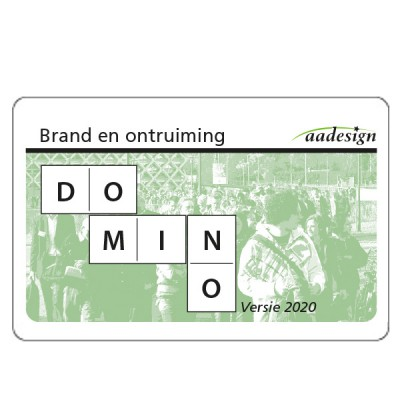 Digitaal Dominospel Brand en ontruiming