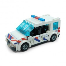 Politie Auto Touran NL-striping