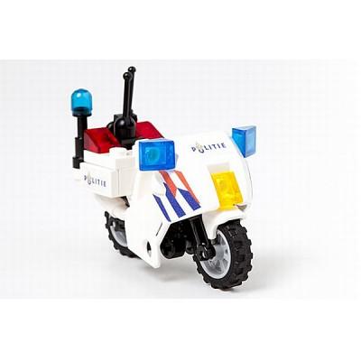 Politie Motor NL-striping