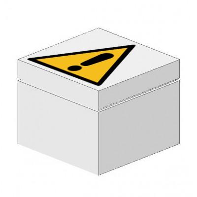 Signaalsteen Waarschuwing algemeen gevaar