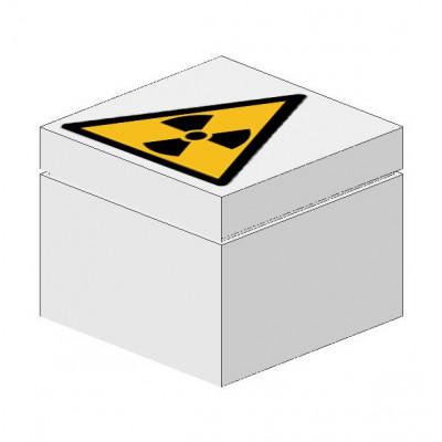Signaalsteen Waarschuwing radioactieve stof