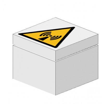Signaalsteen Waarschuwing elektromagnetische straling