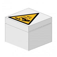 Signaalsteen Waarschuwing bijtende stoffen