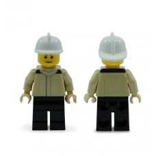 MiniFig Brandweerman - nieuw uniform (NL)