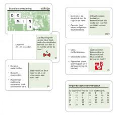 Dominospel Brand en ontruiming