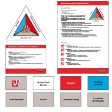 Opleidingsset Branddriehoek en brandklassen