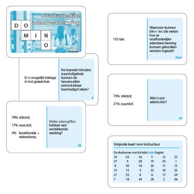 Dominospel Onafhankelijke adembescherming