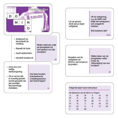 Dominospel Ploegleider