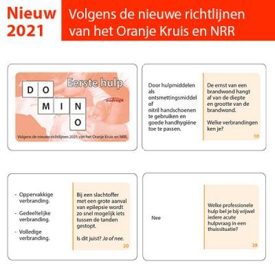 Dominospel Eerste hulp 2021