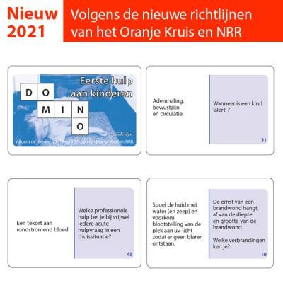 Dominospel Eerste hulp aan kinderen 2021