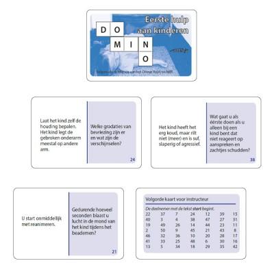 Dominospel Eerste hulp aan kinderen