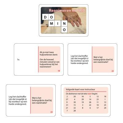 Dominospel Reanimeren en AED