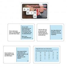 Dominospel Reanimatie en AED bij kinderen
