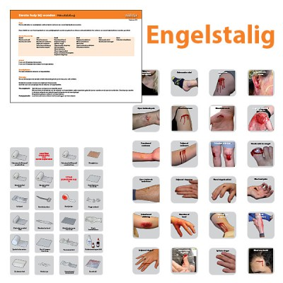Opleidingsset First aid for wounds