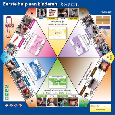 Eerste hulp aan kinderen 2020 bordspel